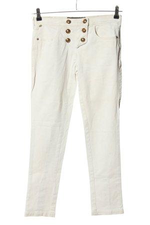 Miss Sixty Slim Jeans weiß Casual-Look