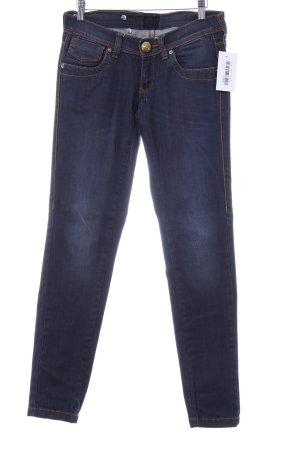 Miss Sixty Slim Jeans dunkelblau-graublau Used-Optik