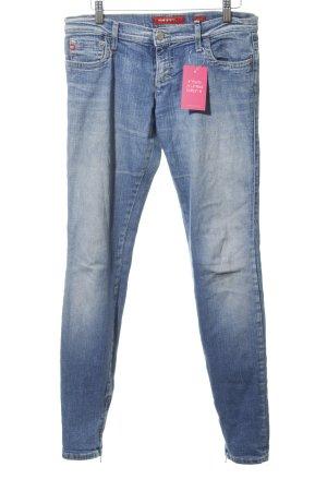 Miss Sixty Jeans slim bleuet style décontracté