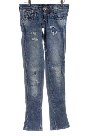 "Miss Sixty Slim Jeans ""SHOCK"" blau"
