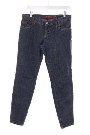 Miss Sixty Slim Jeans stahlblau-hellbeige