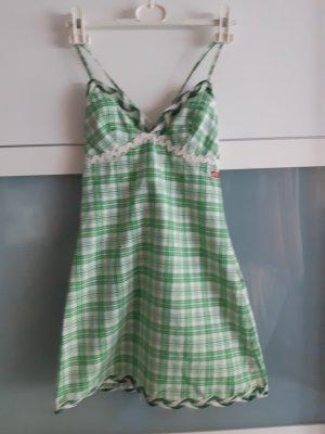 MISS SIXTY _ Sommerkleid  _ G 36 _ Karo _ weiß-grün
