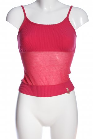 Miss Sixty Spaghettiträger Top pink Casual-Look