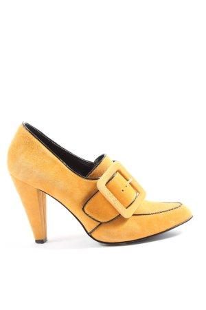 Miss Sixty Stiletto jaune primevère style décontracté
