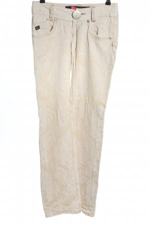 Miss Sixty Stoffhose weiß-creme Casual-Look