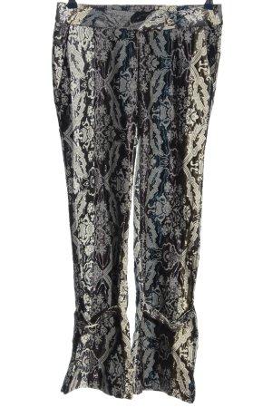 Miss Sixty Stoffhose abstraktes Muster extravaganter Stil