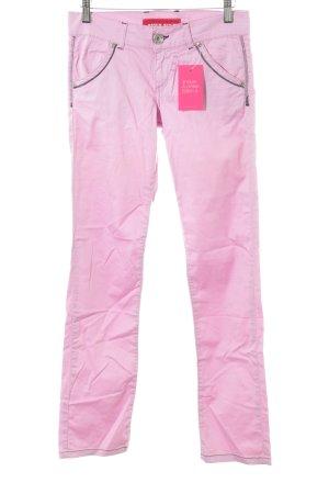 Miss Sixty Stoffhose rosa extravaganter Stil