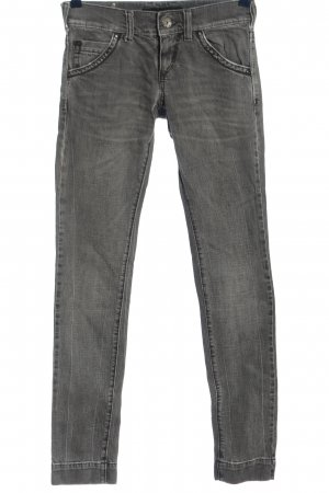 Miss Sixty Straight-Leg Jeans hellgrau Casual-Look