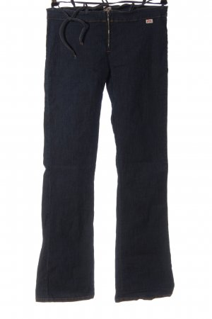 Miss Sixty Jeansy z prostymi nogawkami niebieski Elegancki