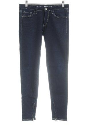 Miss Sixty Straight-Leg Jeans dunkelblau Casual-Look