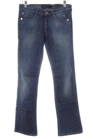 Miss Sixty Jeansy z prostymi nogawkami ciemnoniebieski W stylu casual