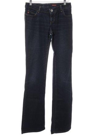 Miss Sixty Jeansy z prostymi nogawkami ciemnoniebieski