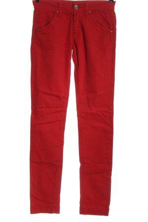 Miss Sixty Vaquero rectos rojo look casual