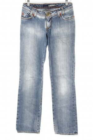 Miss Sixty Straight-Leg Jeans hellblau Casual-Look