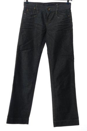 Miss Sixty Straight-Leg Jeans schwarz Casual-Look
