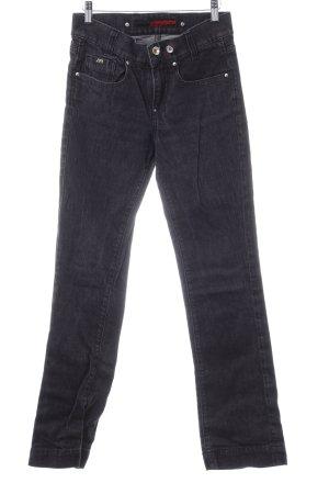 Miss Sixty Jeansy z prostymi nogawkami taupe W stylu casual