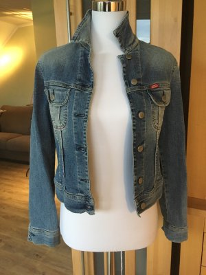 Miss sixty Stretch Jeansjacke Used Look