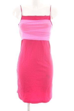 Miss Sixty Stretchkleid himbeerrot-pink extravaganter Stil