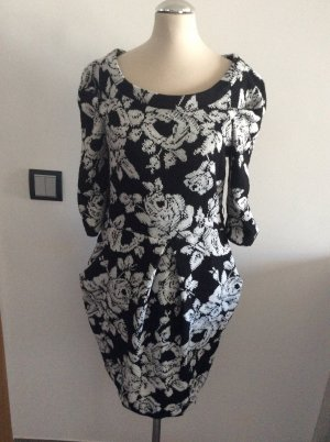 Miss Sixty Knitted Dress white-black