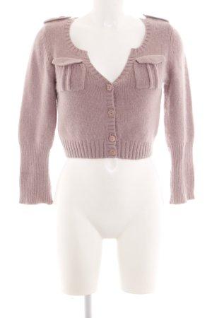Miss Sixty Strickbolero pink Casual-Look