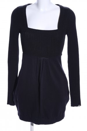 Miss Sixty Knitted Dress black casual look