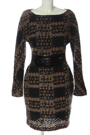 Miss Sixty Robe en maille tricotées imprimé allover style d'affaires