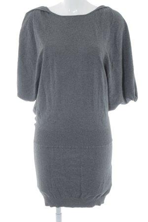 Miss Sixty Strickkleid grau schlichter Stil