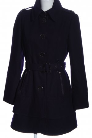 Miss Sixty Manteau en tricot violet style décontracté