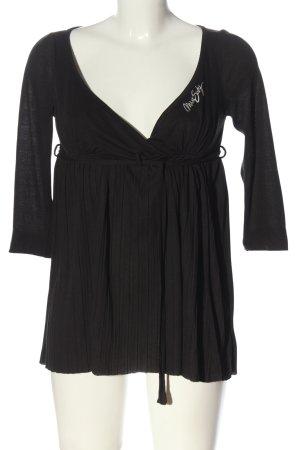 Miss Sixty T-shirts en mailles tricotées noir style décontracté
