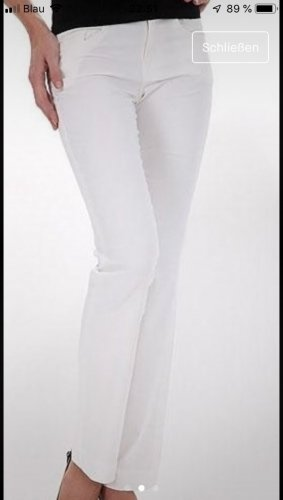 Miss Sixty Pantalon taille basse blanc