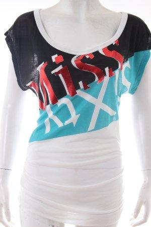 Miss Sixty T-Shirt mit Logo-Print