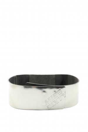 Miss Sixty Waist Belt silver-colored-black casual look