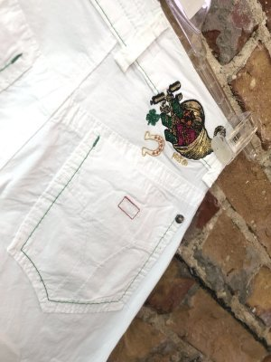 Miss Sixty Jersey Pants white