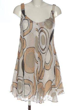 Miss Sixty Trägerkleid abstraktes Muster Casual-Look