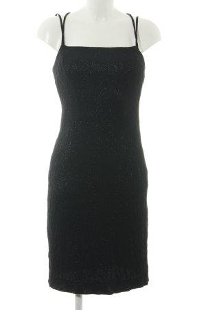 Miss Sixty Vestido tipo overol negro elegante