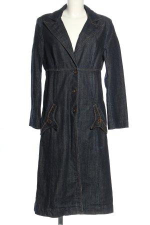 Miss Sixty Übergangsmantel blau Casual-Look