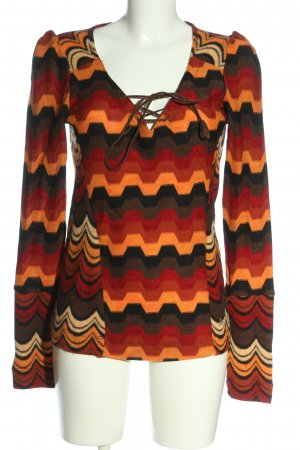 Miss Sixty V-Neck Sweater color gradient casual look