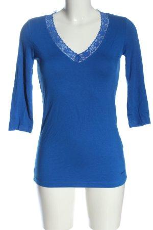 Miss Sixty V-Ausschnitt-Shirt blau Casual-Look