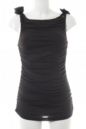 Miss Sixty Cowl-Neck Top black party style