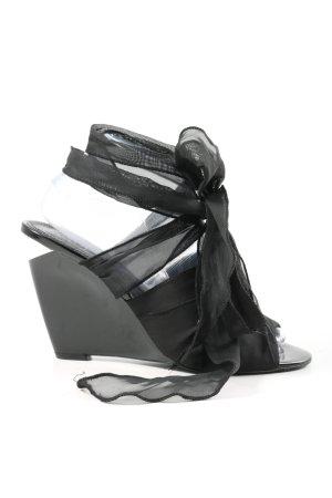 Miss Sixty Wedge Sandals black elegant
