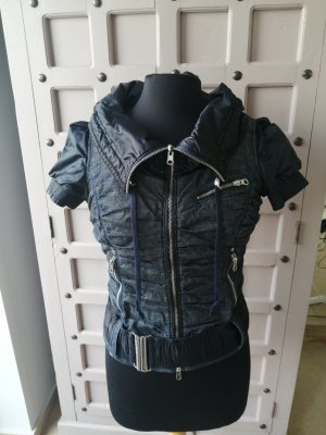 Miss Sixty Quilted Gilet black-dark blue