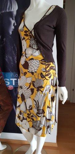 Miss sixty wickeloptik Kleid retro lederjacke Hilfiger & cardigan 2 Designer outifit small