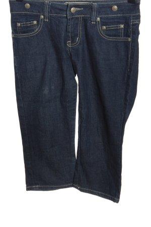 miss swan Jeans a 3/4 blu stile casual