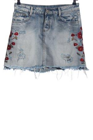 miss two jeans Jeansrock blau Casual-Look