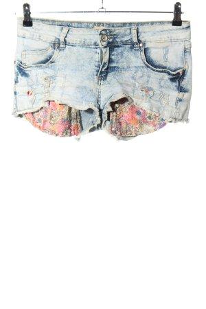 miss two jeans Jeansowe szorty niebieski W stylu casual