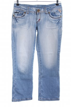 7/8-jeans blauw casual uitstraling