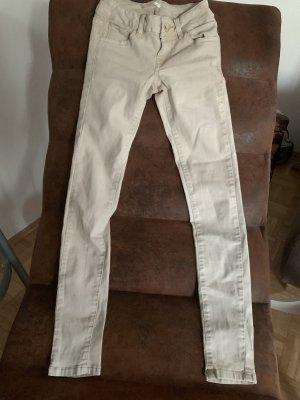 Missbonbon Jeans a carota crema-beige chiaro