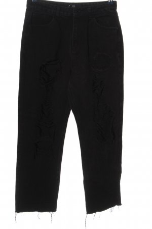 Missguided 7/8-Hose schwarz Casual-Look