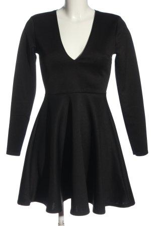 Missguided A-Linien Kleid schwarz Elegant