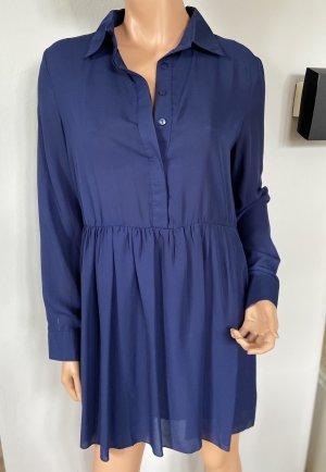 Missguided Babydoll-jurk donkerblauw